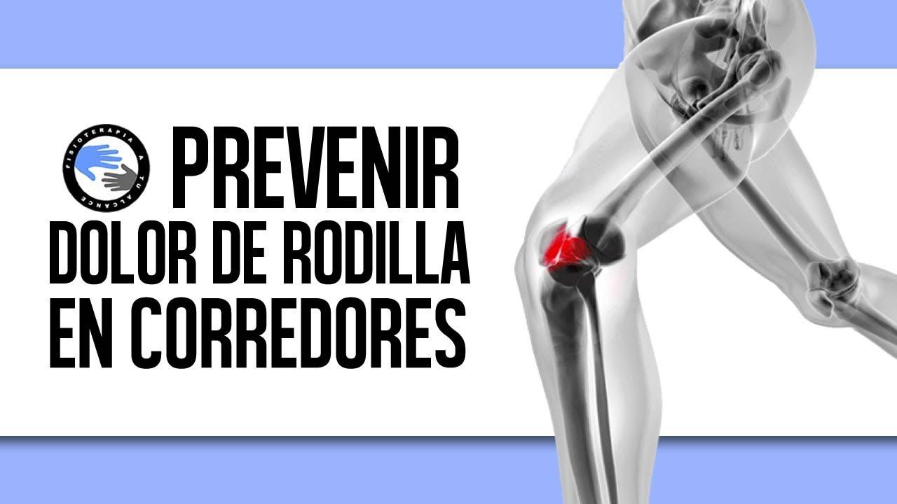 Quitar dolor de rodilla al correr