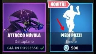 SHOP FORTNITE 22/11/2018!! NEW EMOTE PIEDI PAZZI, SKIN RAPACE, INVESTIGATORE, DETECTIVE AND NOIR