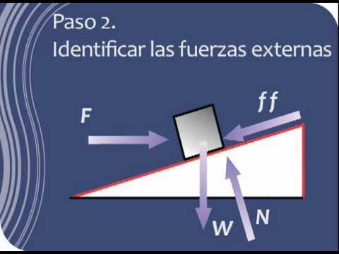 Diagrama de Cuerpo Libre y 2da Ley de Newton - YouTube