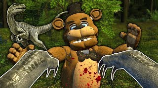 I Became a Raptor and Ate My Friends In Gmod! - Garry's Mod Multiplayer Dinosaur Survival