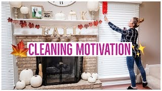 FALL CLEAN ROUTINE 🍂🎃🍁✨ | MY SEASONAL CLEANING TO-DO LIST ✅ | CLEAN WITH ME MOTIVATION!  💪🏼