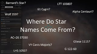 Elite: Dangerous - Where Do Star Names Come From?