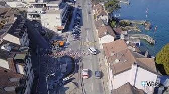 Versoix - Les travaux de la route de Suisse se poursuivent