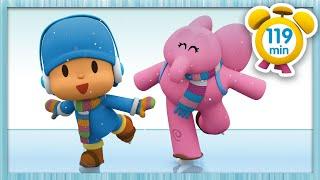 ❄ POCOYÓ en ESPAÑOL  Un invierno muy frío [119 minutos]   CARICATURAS y DIBUJOS ANIMADOS para niños