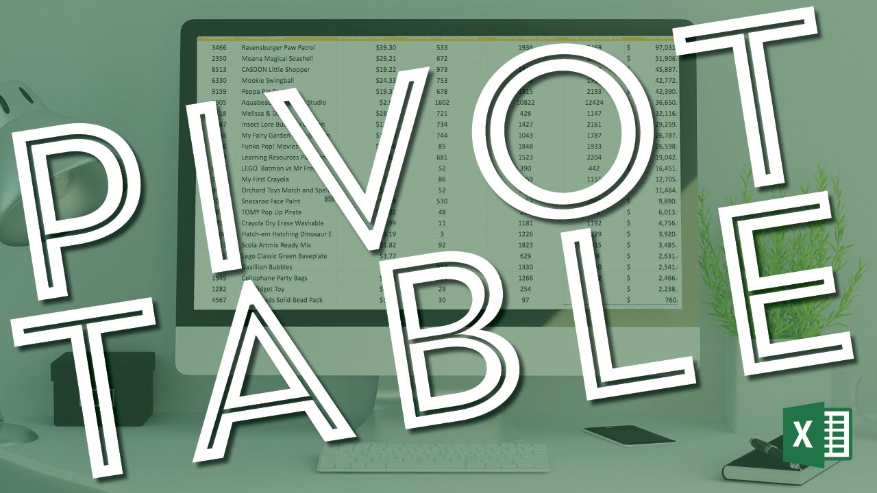 Microsoft excel pivot table tutorial for beginners also rh youtube