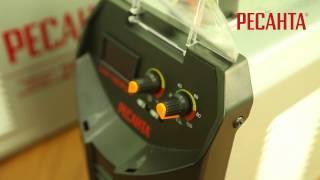 Сварочные инверторы РЕСАНТА САИ 250 ПРОФ и САИ 190 ПРОФ(Видеоролик демонстрирующий сварочный инвертор РЕСАНТА САИ 250 ПРОФ. Для получения более подробной информац..., 2013-05-31T06:09:32.000Z)