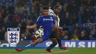 Chelsea 5-2 tottenham - fa youth cup   goals & highlights