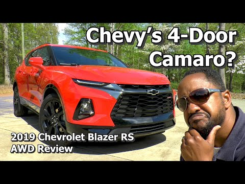 2019 Chevrolet Blazer RS AWD Review - Chevy's 4-Door Camaro?