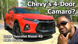 2019 Chevrolet Blazer RS AWD Review - Chevy's 4-Door Camaro?