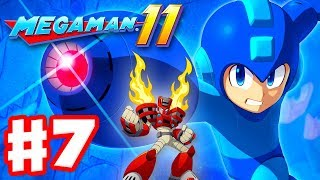 Mega Man 11 - Gameplay Walkthrough Part 7 - Torch Man Stage! (PC)