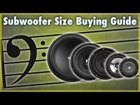 Car Subwoofer Size Buying Guide | What Size of Sub Should I Get?