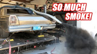Download Diesel NOOBS Try to Dyno a Cummins Powered Galaxie (Complete Disaster) Mp3 and Videos