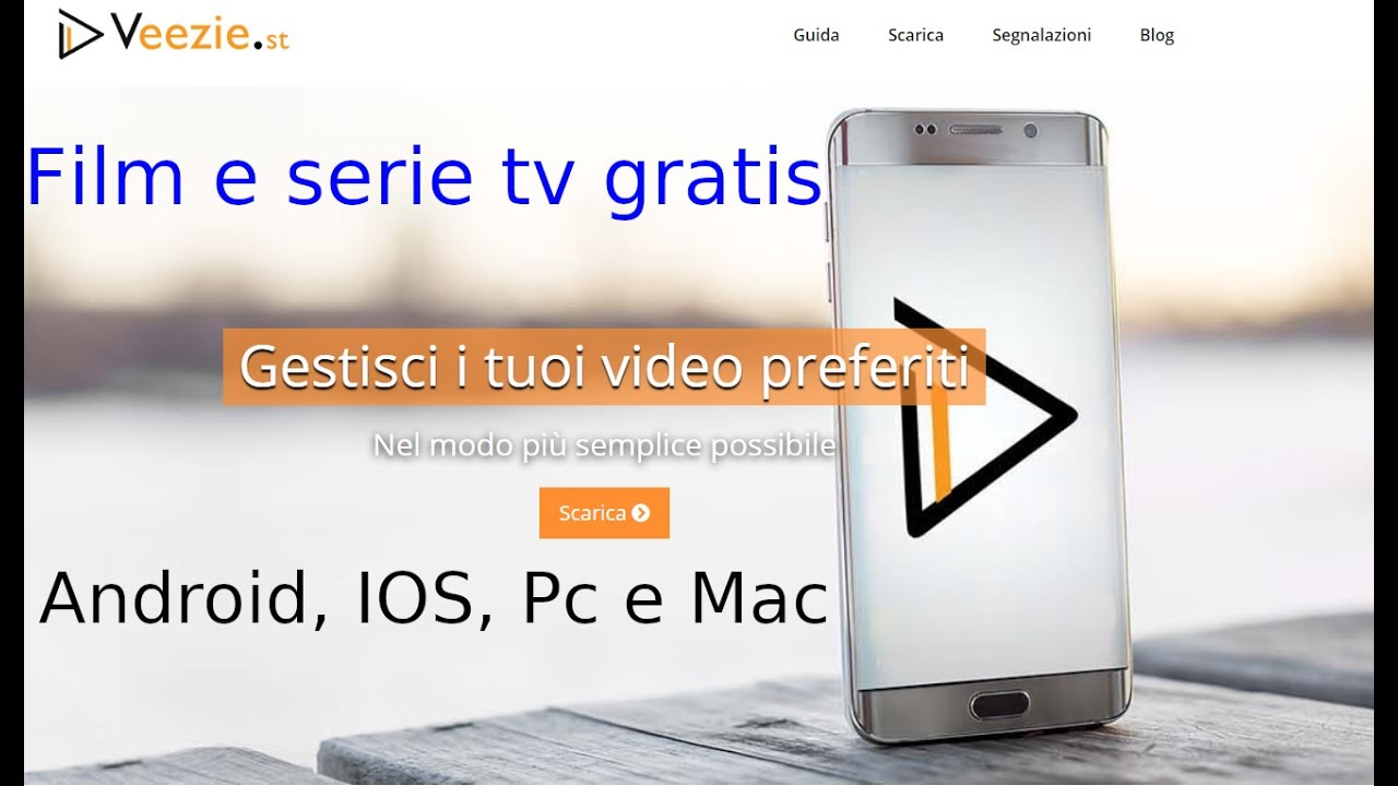 COME VEDERE FILM E SERIE TV GRATIS PER ANDROID, IOS, PC E ...