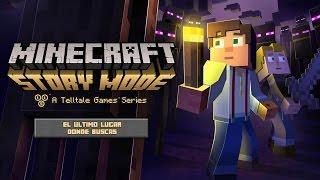 El último lugar donde buscas!! | Cap. 05 | Minecraft: Story Mode (Ep 03)