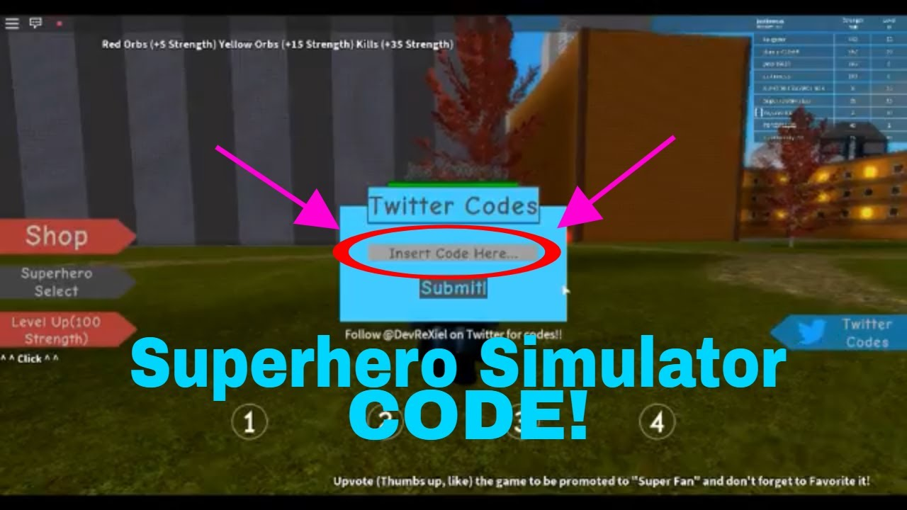 Superhero Simulator- [CODE]