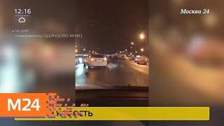 Смотреть видео Виновник смертельного ДТП на Можайке сдался полиции - Москва 24 онлайн
