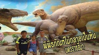 มาดูกระดูกไดโนเสาร์ที่ พิพิธภัณฑ์ไม้กลายเป็นหิน นครราชสีมา l น้องใยไหม kids snook