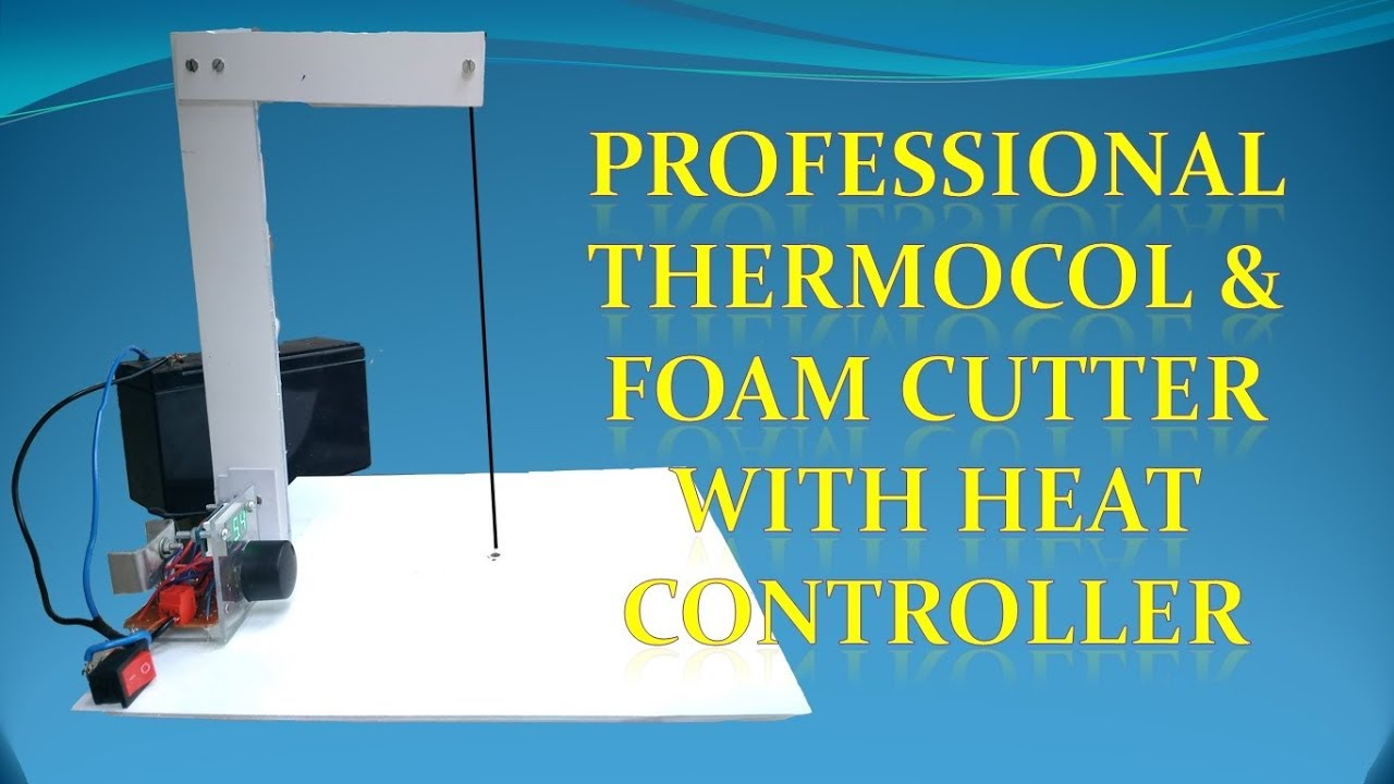 Thermocol Cutter at Home - YouTube