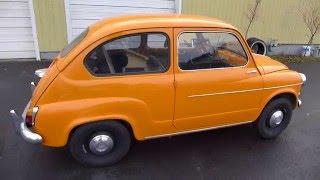 Lisette is a Orange Passion 1959 Fiat 600