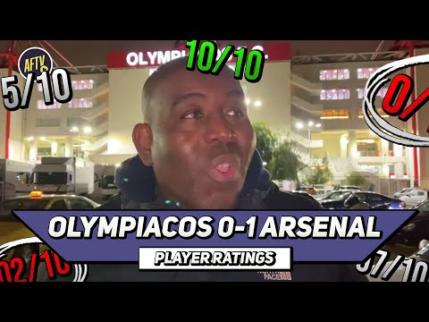 Olympiacos 0-1 Arsenal   Professional Euro Away Day!   Player Ratings