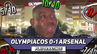Olympiacos 0-1 Arsenal | Professional Euro Away Day! | Player Ratings
