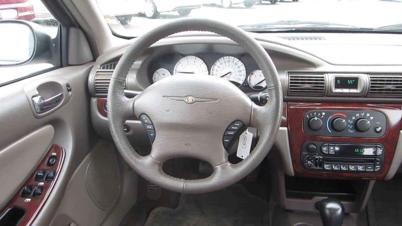 2004 Chrysler Sebring Convertible Interior