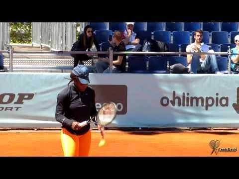 Serena Williams entrena en el Master Madrid 2013