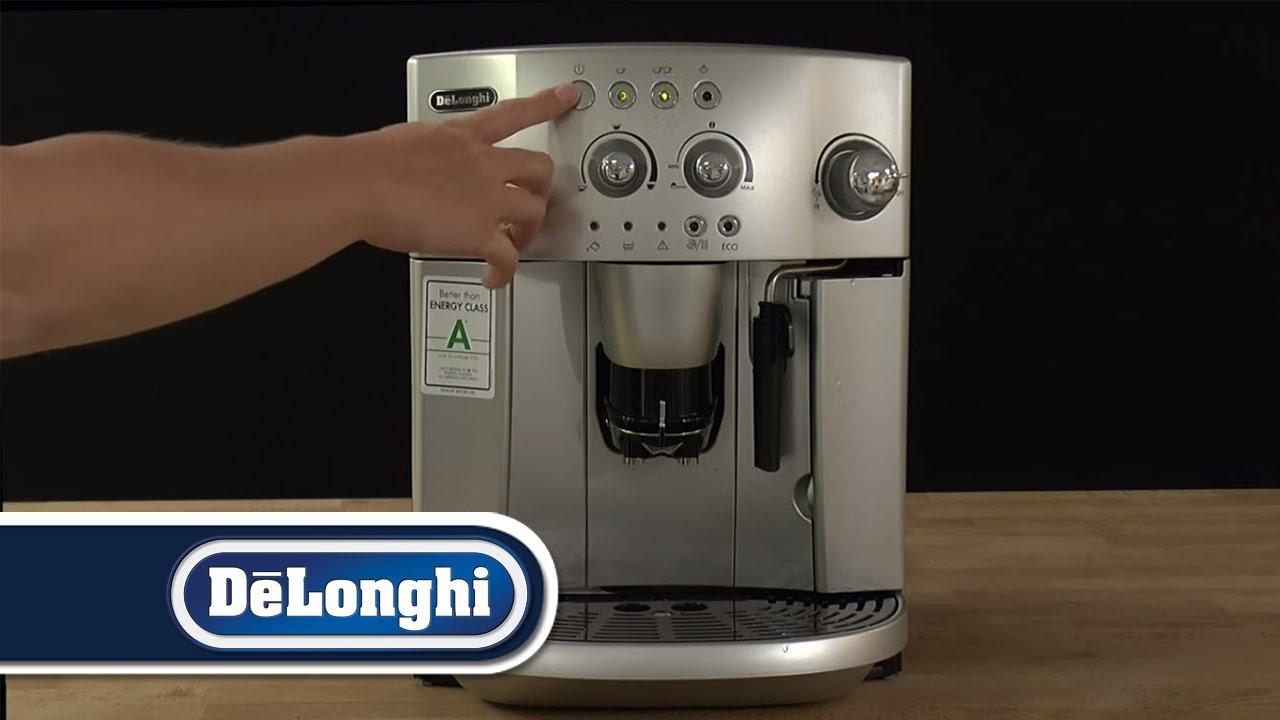 De'Longhi How To Clear air blockage (loud buzzing noise) Magnifica ESAM4200