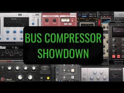 SSL Bus Compressor Shootout (Which is the best digital SSL compressor)