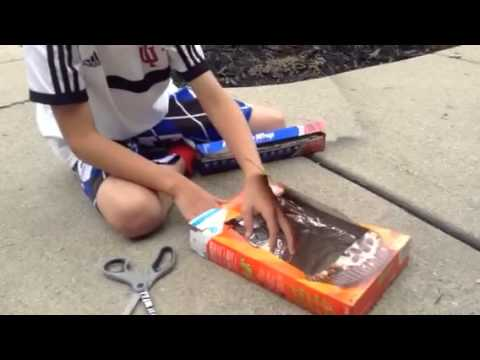 How to make a solar Microwave part 1