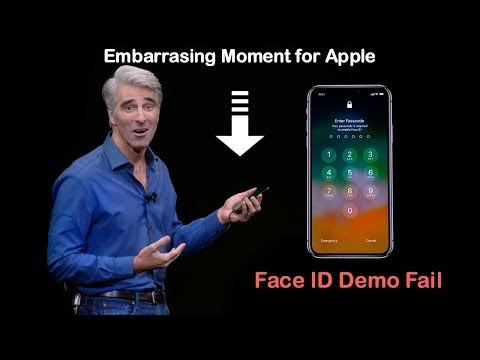 Embarrassing Moment for Apple: Face ID lock demo fails TWICE during the iPhone X launch event