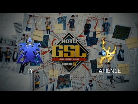 2017 GSL S2 Ro32 Group F Match 1: TY (T) vs Patience (P)