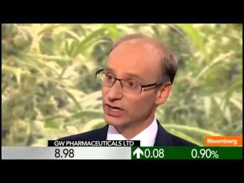 The Future of Marijuana Based Medication GW Pharmaceuticals   Bloomberg