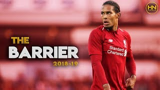 Virgil van Dijk - Liverpool's Best Center Back Since Sami Hyypiä Retired - 2018/2019 HD