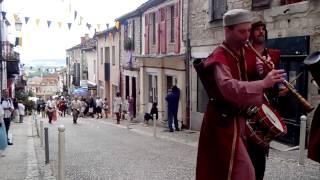 Parade médiévale Monflanquin 2015