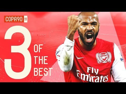 The 3 Players That Define Arsenal Football Club