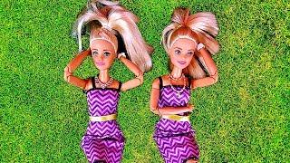 Rodzinka Barbie - Siostry Bliźniaczki?! - Dzieci i Slime Bajka po polsku odc.55