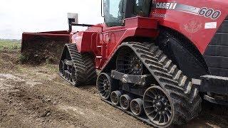 Türkiye'nin Tek Lastik Paletli Traktörü - Case IH Quadtrac 600