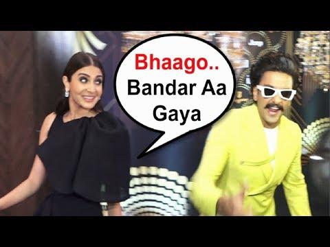 Anushka Sharma Runs After Seeing Ranveer Singh At HT India's Most Stylish Award 2019 Red Carpet Mp3