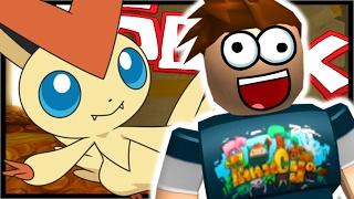 VICTINI LEGENDARY!! | Roblox Pokemon Brick Bronze | Ep 24