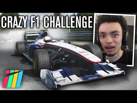 CRAZY F1 CHALLENGE | Project CARS (Nurburgring)