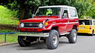 1997 Land Cruiser FRP Top 70-series (Canada Import) Japan Auction Purchase Review