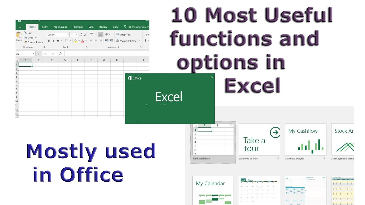 most useful excel formulas