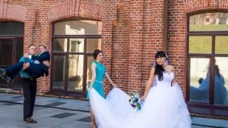 Алексей и Ольга, свадьба в бирюзе