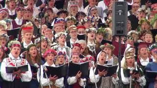 00041 Pasaules latviešu dienu koru un folkloras kopu koncerts