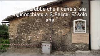 Cantalice. Miracolo del cane al Casaletto di San Felice. 9.9.2012 CSF Rieti