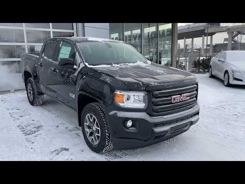Black 2020 GMC Canyon All Terrain SLT 4WD W/Leather Review   - GSL GM City Calgary