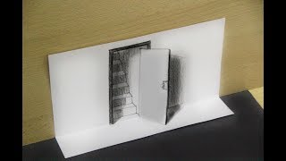 How to Draw a 3D Ladder in a Hole