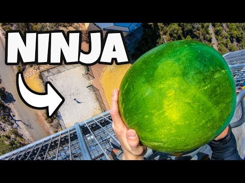 FRUIT NINJA in REAL LIFE from 45m!
