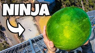 FRUIT NINJA in REAL LIFE from 45m! thumbnail